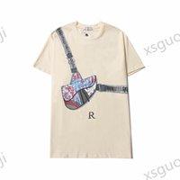 Fashion Bear Print Summer T-shirts Black White T-shirt Short Sleeve Clothes
