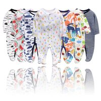 Girl Rompers Infant Baby Clothing Sets Fly Sleeve Cotton Kids Onesie Children Toddler Girls Boutique clothes