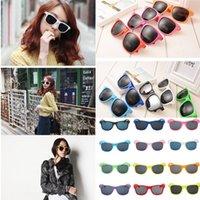 13 Colors Women Men Sunglasses Kids Beach Supplies UV Protective Eyewear Adults Girls Boys Sunshades Glasses Fashion Accessories