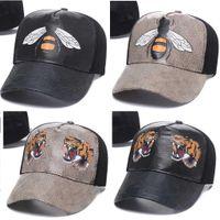 2021 Toptan Moda Stil Kemik Golf Visor Casquette Beyzbol Şapkası Kadınlar Gorras Baba Spor Luxurys Erkekler için Şapka Tasarımcı Şapka Hip Hop Arı Yılan Tiger Snapback Caps