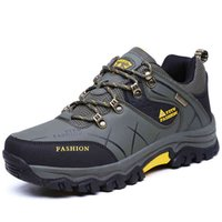 Hiking shoes boot Classic Pu Leather Walking Men Spring Outdoor Sneakers Trekking Shoes Winter Waterproof Sport Mountain climbing 0914