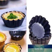 Uovo crostata stampo torta alluminio lega muffa muffa strumento cupcake fruit stampo 7 cm diametro cucina cottura