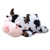 30 cm Schöne Kuh Plüsch Gefüllte Puppen Nette Motherbabymilch Rinder Plüsch Spielzeug Weiche Nickerchen Kissen Kissen Cartoon Geburtstagsgeschenk