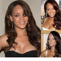 Súper suave # 4 Sin procesar Brasileño Virgen Human Wave Natural Wave Despleless Lace Front Wigs para mujeres negras