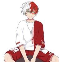 My Hero Academia Anime Cosplay Top Boku No Hero Costume Todoroki Shoto Summer Loose T Shirt Shorts Men Women Halloween Clothes G0913