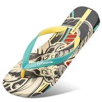 Slippers Men Goat Totem Sandals Casual Summer Beach Flip Flops Designer Fashion Comfortable Pool Travel Slides