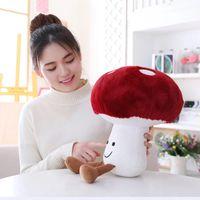 16-45cm Creative Cute Small Mushroom Plush Toys Stuffed Soft Vegetables Doll for Kids Child Baby Gift Decoration LA272