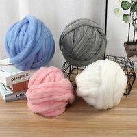 Yarn Super Warm Soft Chenille Blanket Coarse Icelandic Wool Plush Knitting Carpet Hat Mat Large Chunky