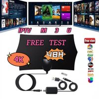 M3U HD 4K antenna supports smart TV data cable Android iPhone Europe Spain free test IPTV