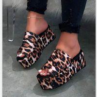 Sandals 2021 Summer Women Wedges Shoes Pumps High Heels Flip Flop Chaussures Femme Platform