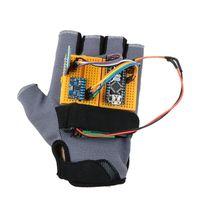 Smart Robot Sport Guanti Gesto Auto Gesture Control Fai da te Nano Bluetooth wireless Compatibile per il semaforo del kit Arduino