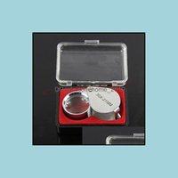 Inne optyka Optyczna analiza pomiaru Instrumenty Office School Business Industrial30x 21mm Jewellers Eye Lupa Lupa Powiększająca Gl