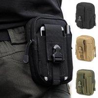 2021Men de la ceinture de sport de la ceinture militaire sac tactique tactique sac de plein air fonctionnant des sacs à usure multifonctionnel