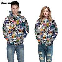 Astronaut 3D Printed Hoodies Men Women Hooded Sweatshirts Fashion Long Sleeve Pullover Fall Winter Streetwear Top