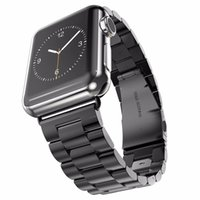 Bracelet en acier inoxydable de luxe pour la montre Apple 7 6 5 4 3 Bande 41mm 45mm 45mm 38mm 42mm Bracelet Sport Watch bandeau Fit Iwatch Series 40mm 44mm Sangles
