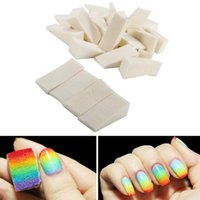 Nail Art Kits 24Pcs Triangle Polish Gradient Color Changing Sponge Stamping Paintings Image Easy Transfer Kit Beauty Tool