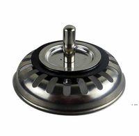 جودة عالية 79.3 ملليمتر 304 الفولاذ المقاوم للصدأ المصارف المطبخ بالوعة مصفاة سدادة النفايات المكونات تصفية الحمام حوض استنزاف HWD6369