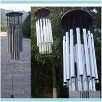 Decorações Pátio, Gramado Home Gardenantique 27 5 Jardim de Livros ao Ar Livro Windchimes Tubos de Jardim Bells Chimes de vento Jllsnp Drop entrega 2021 GD