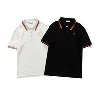 Diseñador para hombre Polos de caballo Polos de cocodrilo Ropa de bordado Hombres Tela Tela Polo Camiseta Cuello Casual Tee Shirts Tops