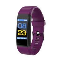 ID115 Artı Akıllı Bilezik Spor Izci Akıllı İzle Kalp Hızı Watchband Smart Bileklik Android Cep Telefonları Ile Kutusu DHL ile DHL