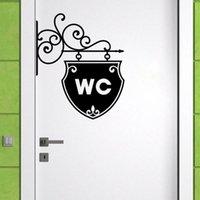 벽 스티커 YOYOYU 데칼 스티커 아트 WC 욕실 화장실 크리 에이 티브 도어 창 이동식 가정 집 장식 벽화 포스터 Y-46