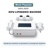 2021 Liposonix Corpo emagrecimento Shagring Machine Hifu Face Levantando Remoção de rugas 2 em 1 Redução de gordura Ultra-sonografia Apertação de pele