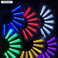 Другие домашние декор партии светодиодные светящиеся вентилятор сценические характеристики Показать свет СВЯЗЬ Свадебный ночной бар клуб флуоресцентный реквизит дети подарок на день рождения