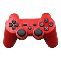 2021 newest wholesale Game Console Wireless Bluetooth Gamepad Joystick Controller Accessory USB Handle Gamepads With LOGO For PS3 PC phone Accessories Retail Box