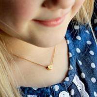 Collares colgantes A-Z letra inicial collar de corazón para mujeres de oro alfabeto encanto cadena gargantilla joyería collier femenino regalo