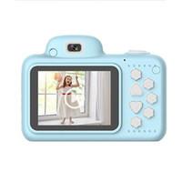 Spielzeug Mini Dual Objektiv Video Stoßdicht Camcorder mit Speicherkarte Kamera Geschenke Digital ABS Cartoon 2.4 Zoll Bildschirm Kinder DSLR Kameras