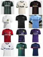 Fans Versão Jogador MLS Futebol Jerseys 21 22 LAFC Inter Atlanta La Galaxy York Orlando Cidade Montreal Columbus Jersey Seattle Sounders Kansas 2021