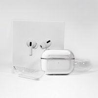 Earphone Accessories Luxury For Airpods Pro Protective Cover Apple Airpod 3 Air pods Bluetooth Headset Set Transparent PC Hard Shell Clear Protecter high quality
