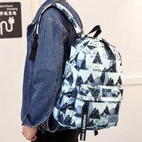Sacchetti di scuola Zaini in tessuto Oxford impermeabile per Boys Print Girls Laptop Backpack Adolescenti Scolara