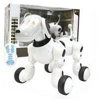 RC الذكية روبوت الكلب الكهربائية اللاسلكية التحكم عن بعد لعبة الغناء الرقص المشي للبنين وهلم جرا
