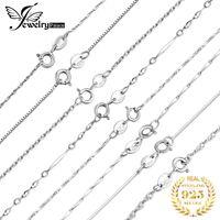 Yutong JewelryPalace 100% Подлинное Стерлинговое серебро 925 Стерлингового Серебра Сингез Сингапур Belcher Snake Bar Сингапур Цепи Ожерелье Женщины