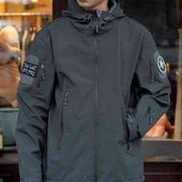 Dafeili осень зима арабарков пеший туристический куртка мужская водонепроницаемая внешняя мягкая шишка тактические военные