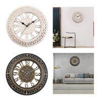 Wall Clocks Large Kitchen Battery Operated Art For Farmhouse Home Den