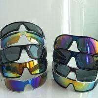 Summer Cycling Sport Sunglasses Casuais Ao Ar Livre Eyewear Driving Designer Sun Óculos Homens Mulheres Grande Moldura Siamese Óculos