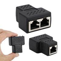 Ethernet-Netzwerk-Splitter-Anschluss-Adapter-Extender-Kabel 1 weiblicher bis Dual-Schreiner-Koppler für Modem-Computerkabel-Anschlüsse
