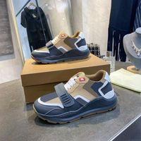 Luxurys Hommes Designers Vérifiez des chaussures Espadrille surdimensionnée Vintage Sneaker Hommes Femmes Formatrices Baskets Baskets Top Qualité avec Box No281