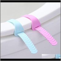 Ers Bathroom Aessories Bath Home & Garden2Pcs Sile Foldable Adjustable Sanitary Potty Lifter Band Er Belt Mention Toilet Seat Lifters Closest