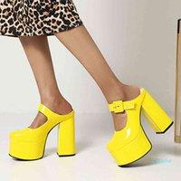 fashion-Dress Shoes Ritronini sapato de salto alto feminino, festa para mulheres, com fivela plataforma, sexy, alto, verao,