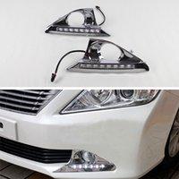 Fonction de signal de virage blanc de la voiture LED DRL DRL DRL WHITE WHITE Etanche pour C-Amry 2011-2014