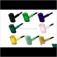 Pipes Smoking Aessories Household Sundries Home & Gardenwholesale Colorful Est Design Tankard Sherlock Thick Brand Labs Hammer Glass Hand To