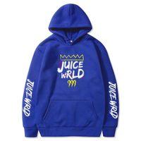 2020 New juice wrld print Hoodies sweatshirt Men Fashion Brand autumn winter Hip Hop hoodie pullover Harajuku Fleece Hoody Tops