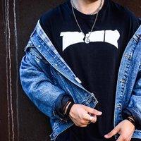 Moda para hombre diseñador t shirt verano de alta calidad letra impresión manga corta parejas cuello redondo tees talla de polo m-2xl