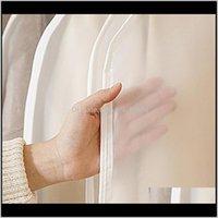 Altro Organizzazione di pulizie Clear Sidepen Abbigliamento Abbigliamento Borsa da stoccaggio per uso domestico Giacca camicia cappotto antipolvere idraulica Protezione Proteggi U9EOR
