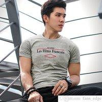 Kas Erkek Adam Slim-Fit Kısa Kollu T-Shirt Spor Spor Erkek Adam Sıkı Tişört Yuvarlak Boyun Kapsamlı Eğitim Streç Ter-Emici Gömlek
