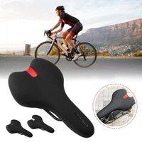 Bicicleta selas de alta qualidade confortável bicicleta sela de memória espuma acolchoado macio almofada para acesso interno / exterior de ciclismo