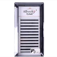 False Eyelashes 3d 4d 5d 6d Heat Bonded Pre Made Volume Fans Faux Mink Premade Russian Eyelash Extension Supplies
